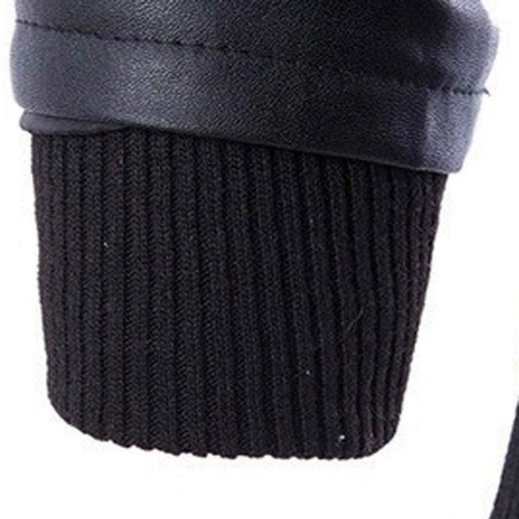 Men Coat ❤️Amlaiworld Men Leather Autumn/&Winter Jacket Biker Motorcycle Zipper Outwear Warm Coat