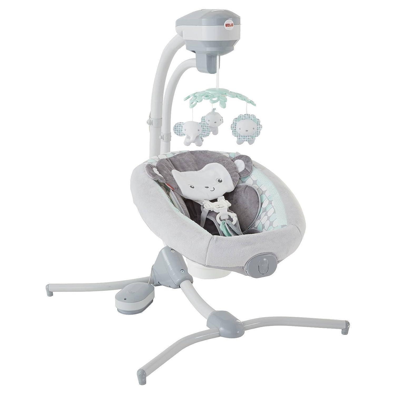 Fisher-Price Sweet Surroundings Monkey Cradle 'n Swing Fisher-Price Baby DRG41