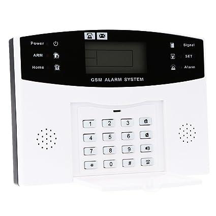 Amazon.com: Walmeck Home Alarm Security System, Wireless GSM ...