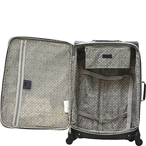 Olympia Luggage Skyhawk 22 Inch Expandable Airline Carry-On,Black,One Size by Olympia (Image #2)