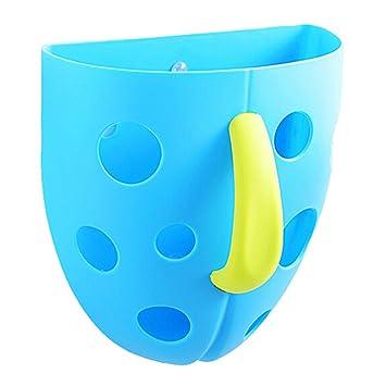 cubo de almacenamiento - organizador de juguetes para baño bebé ... - Organizador De Juguetes Para Bano
