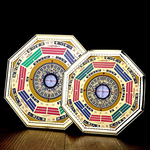 Feng shui for home. better us Chinese Feng Shui Compass Bagua Mirror (Middle). #fengshui