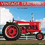 TF Publishing 171147 Wall Calendar 2017, Vintage Tractors