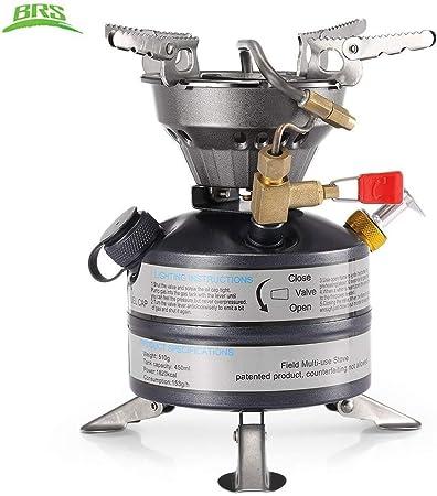 Gocher Mini Combustible al Aire Libre Estufa de Camping Gasolina portátil Queroseno Estufa de Aceite quemadores
