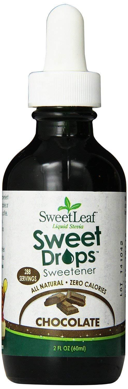 Sweetleaf Chocolate Liquid Stevia, 2 Ounce (3 Pack)
