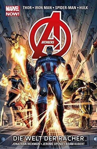Avengers - Marvel Now!: Bd. 1: Die Welt der Rächer Taschenbuch – 20. Januar 2014 Jonathan Hickman Jerome Opeña Adam Kubert Panini