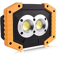 FONCBIEN Foco LED Recargable, Luz de Trabajo Portátil
