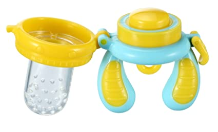 Kidsme Food Feeder, Blue/Yellow, Small by Kidsme: Amazon.es ...