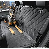 Dog Seat Cover with Nonslip Backing - Side Flaps - Waterproof - Lifetime Warranty