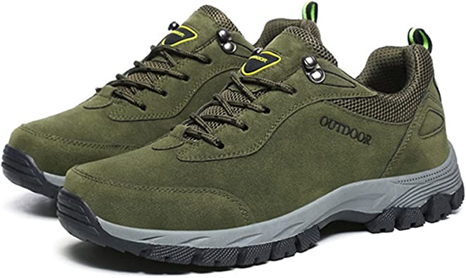 Gracosy Hombres Senderismo Zapatos Escalada Deportes al Aire Libre Senderismo Zapatillas Caminar Impermeable Zapatos de montaña Correr Zapatos ...