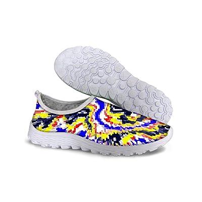 FOR U DESIGNS Cool Women's Mesh Trail Shopping Sneaker Running Shoes US 8.5