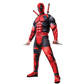 NET TOYS Disfraz Deadpool con Máscara - STD (48 - 52 ...