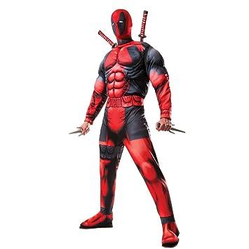 Amakando Traje Superhéroe - STD (48 - 52) | Disfraz Deadpool ...