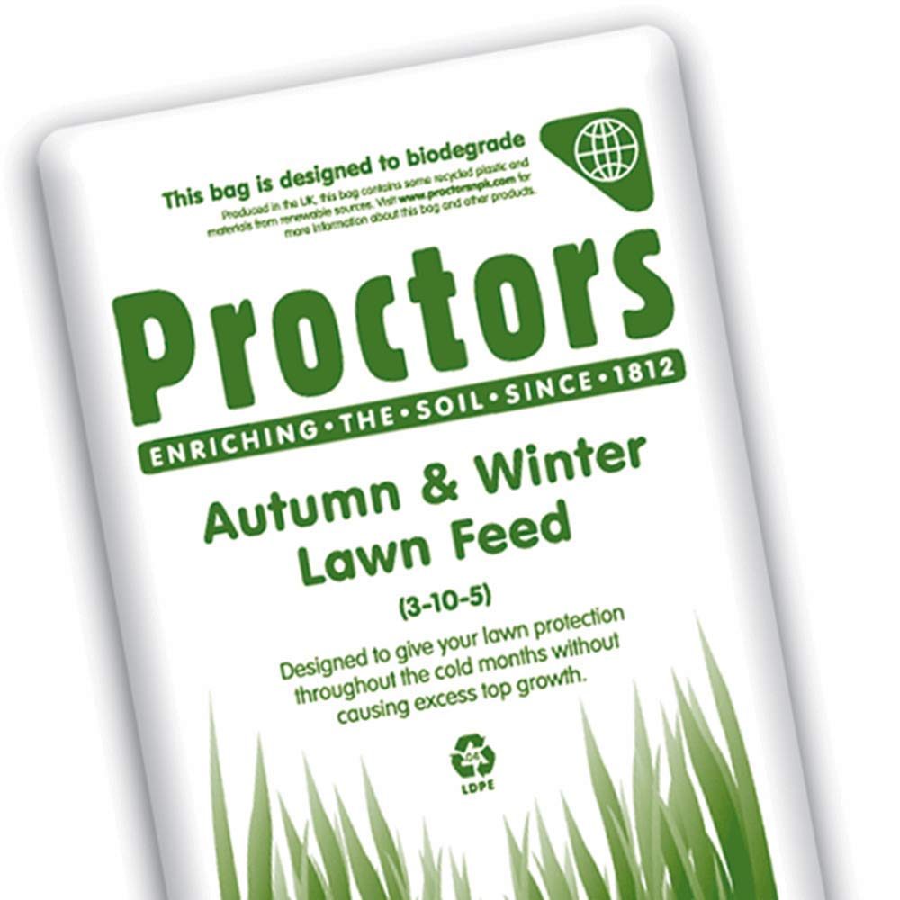 AUTUMN AND WINTER LAWN GRASS FEED - 571 sq m treatment Proctors