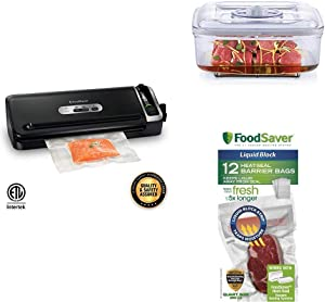 FoodSaver FM3920 Vacuum Sealer/Marinating Kit