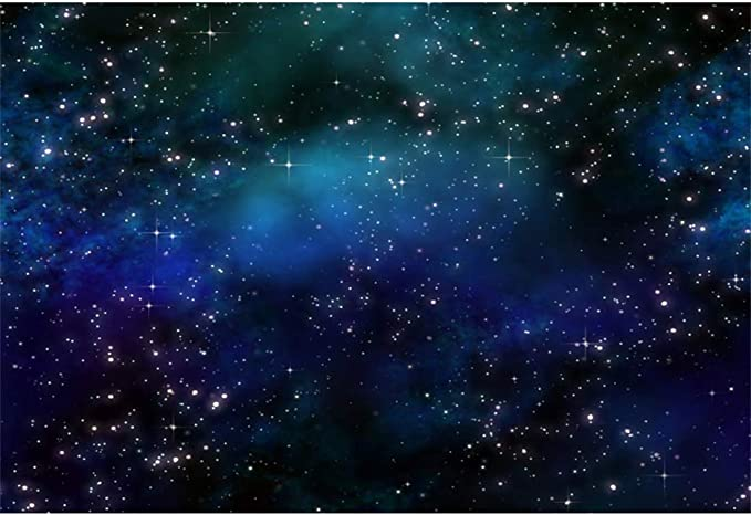 YEELE Galaxy Backdrop Nebula Stardust and Bright Shining Stars Photography Background 10x8ft Sci-fi Events Room Decoration Personal Portrait Photo Booth Banner Video Wallpaper Props
