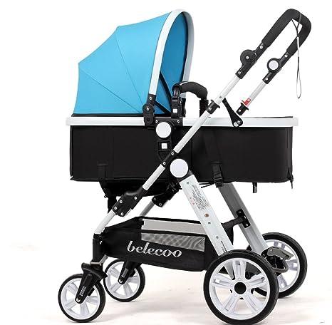 Jia He Cochecito de bebé Puede Sentarse en el Carro de bebé Ligero de la Carretilla
