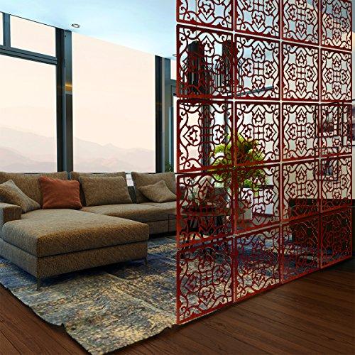 Price comparison product image Lchen Hanging Room Divider, Simple Wood Environmentally Safety Home Panel Screen (4, H-Large)