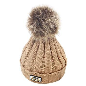 273564bd3 Amazon.com : Newborn Winter Warm Hat, Baby Toddler Children's Beanie ...