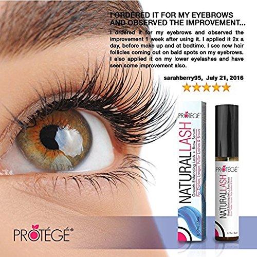Protégé Beauty - Tratamiento para el crecimiento de pestañas/cejas (5 ml): Amazon.es: Belleza