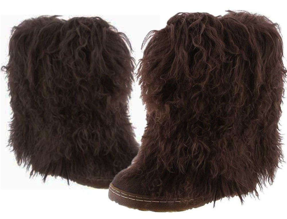 BEARPAW Boot Women's Boetis II Mid-Calf Boot BEARPAW B00O2A4N20 5 B(M) US|Chocolate 639146