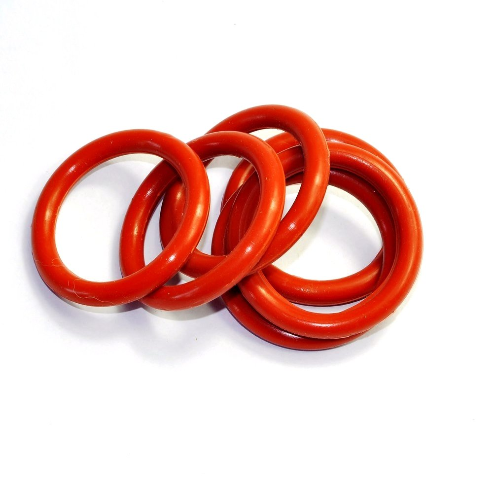 Cary 30mm ID 5mm Thickness Tube Dampers Silicone O-ring Amp For Shuguang EL34 EL34B 10pcs