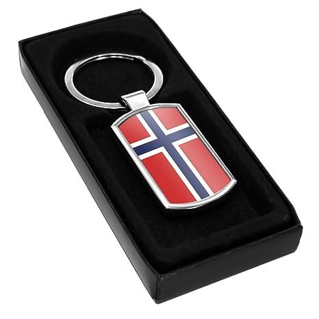 Bandera de Noruega llavero 156: Amazon.es: Hogar