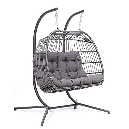 Fabulous Amazon Com Giodlce Hanging Egg Swing Chair For Indoor Inzonedesignstudio Interior Chair Design Inzonedesignstudiocom