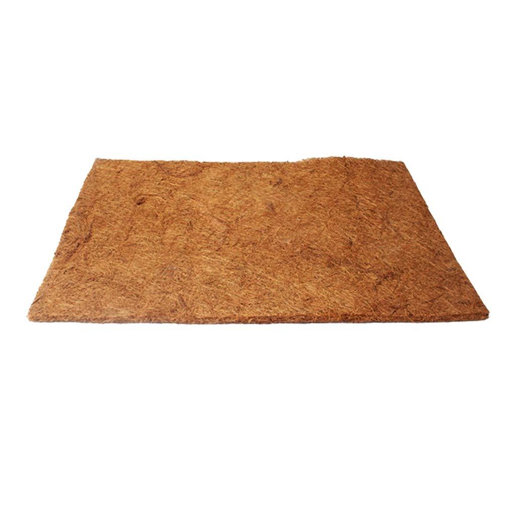 POPETPOP Coconut Fiber Mat Reptiles Bedding Large Pet Habitat Carpet Mat Substrate for Lizards Turtles Snakes Iguana