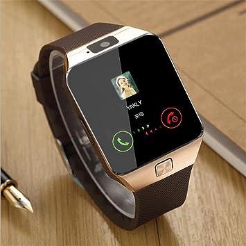 WILK-A Reloj inteligente para niños reloj deportivo inteligente DZ09 Reloj para teléfono móvil WeChat Sistema QQIOS Reloj Bluetooth anti-perdido , Golden: ...