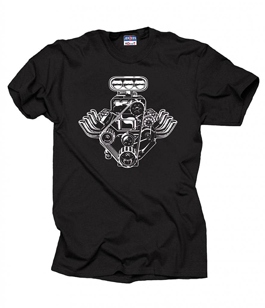 Milky Way Tshirts pistones de Motor de Coche de la Camiseta American Muscle Car T de los Hombres