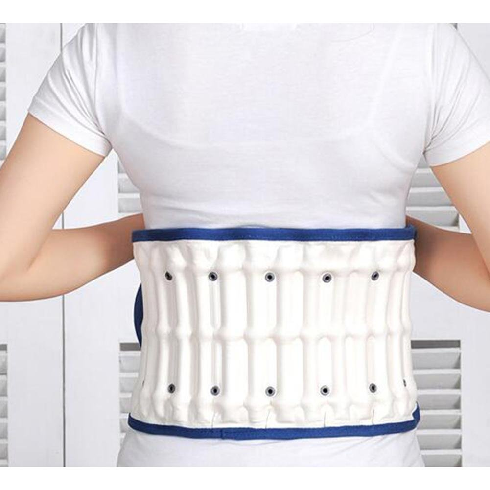 LPY-Lumbar Support Lumbar Disc Herniation Massager Spinal Air Traction Back Belt LM-61 by Waist support (Image #7)
