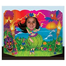 Beistle 57997 Hula Girl Photo Prop, 3-Feet 1-Inch by 25-Inch
