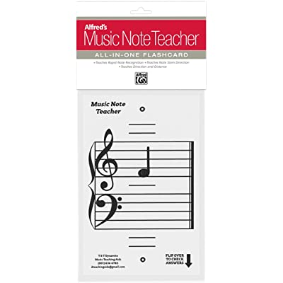 Alfred's Music Note Teacher: All-In-One Flashcard (White): Alfred: Musical Instruments