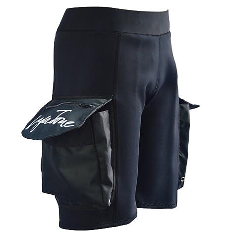 4e21e87b321 Layatone Wetsuit Shorts Pocket for Men Premium 3mm Neoprene Diving Short  Fishing Surfing Snorkeling Canoeing Shorts with Big Pocket Tech Scuba Shorts  Wet ...