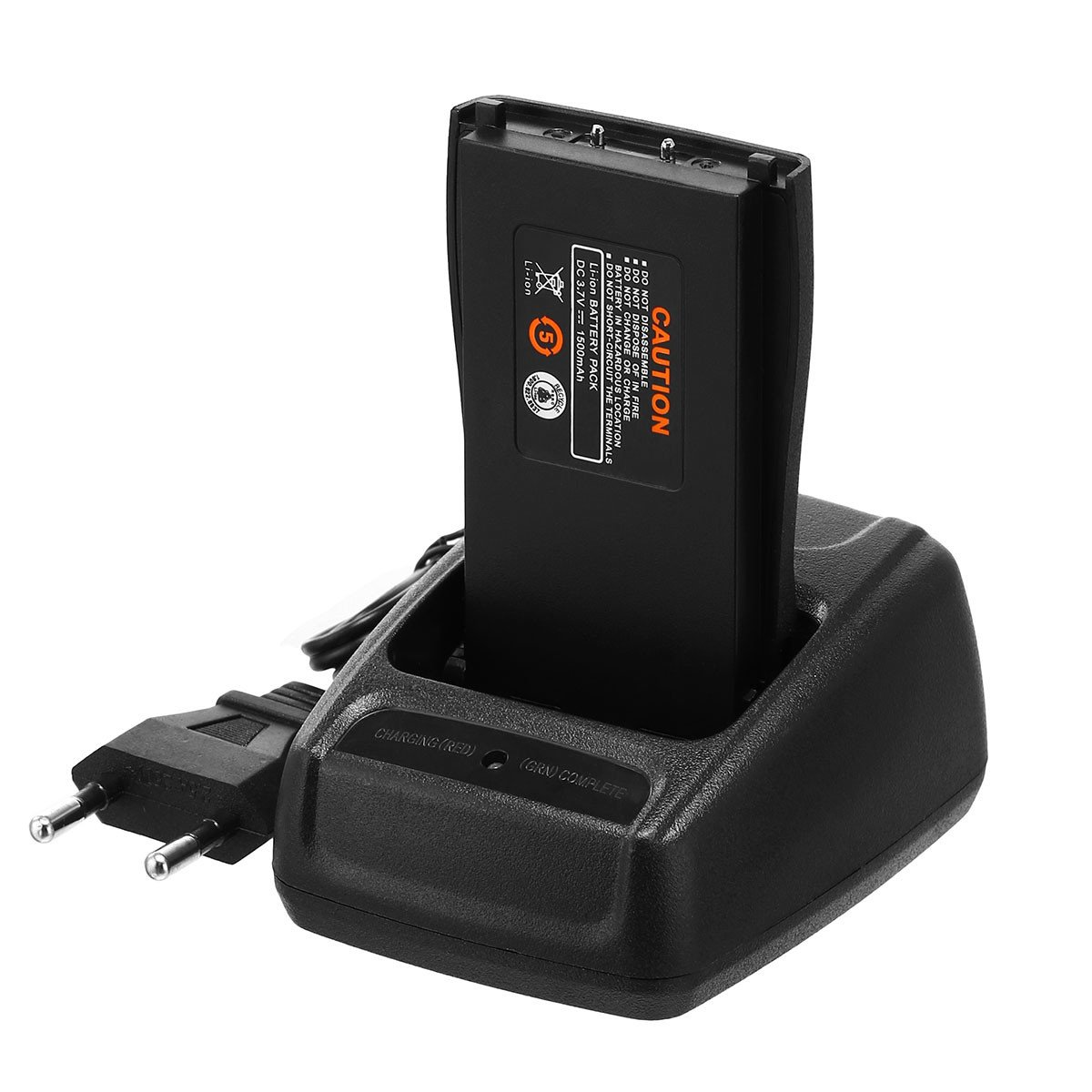 EBL 2Stück BF-888S 16 Kanäle Wireless Walkie Talkie Funkgeräte mit Desktop Ladegerät