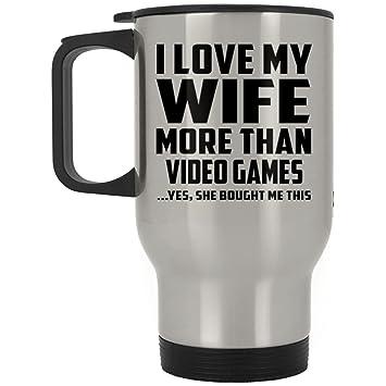 Mann Travel Tasse Ich Liebe Meine Frau Mehr Als Video Spiele Ja