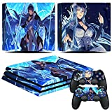 EBTY-Dreams Inc. - Sony Playstation 4 Pro (PS4 Pro) - Akame ga Kill! Anime Girl General Esdeath Vinyl Skin Sticker Decal