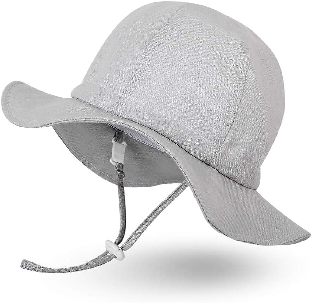 per bambina ragazzo neonato Ami/&Li tots protezione solare UPF 50 Cappello da sole unisex a tesa larga