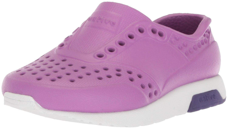 Native Kids Lennox Water Proof Shoes, Peace Purple/Shell White/Petal Purple, 10 Medium US Toddler