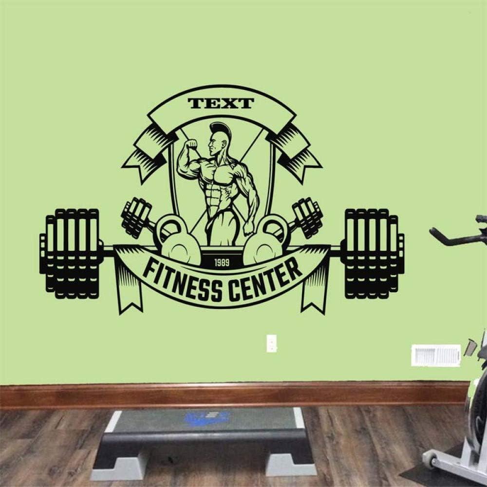 Logotipo del Centro de Fitness Etiqueta de la Pared removible para ...