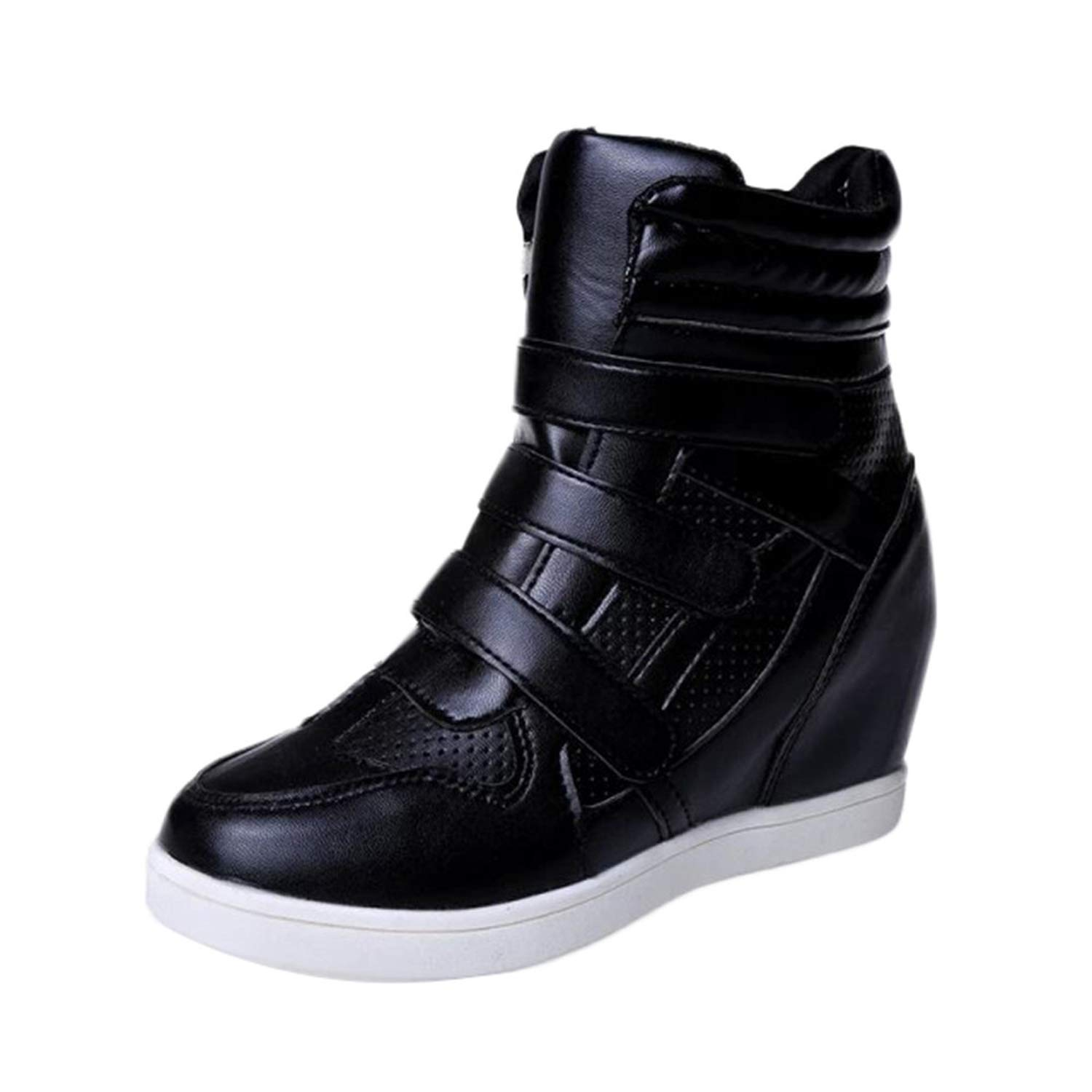 a few days away release date: new cheap Henraly Women Ankle Winter Boots 2019 Leather Thick Bottom ...