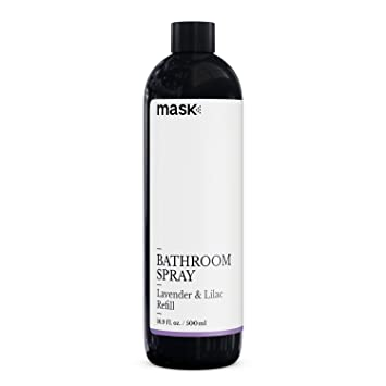 Gentil Mask Bathroom Spray Lavender And Lilac 16 Ounce Refill, Toilet Spray,  Before You