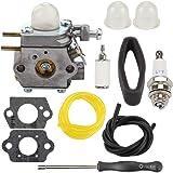 Wellsking Carburetor for Troy-Bilt TB80EC TB32EC YM21CS TB21EC TB22EC TB2040XP TB22 2 Cycle String Trimmer Gas Craftsman…