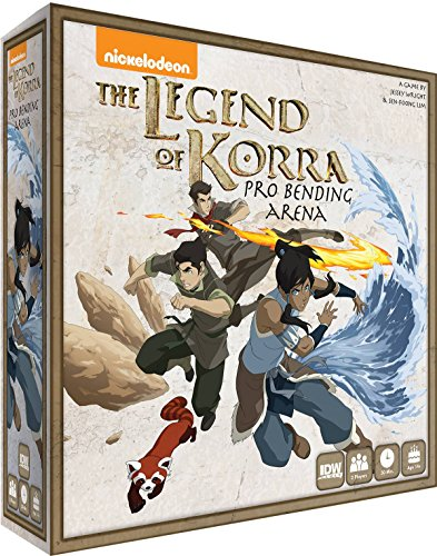 IDW Games The Legend of Kora: Pro-Bending Arena Miniatures Board Game