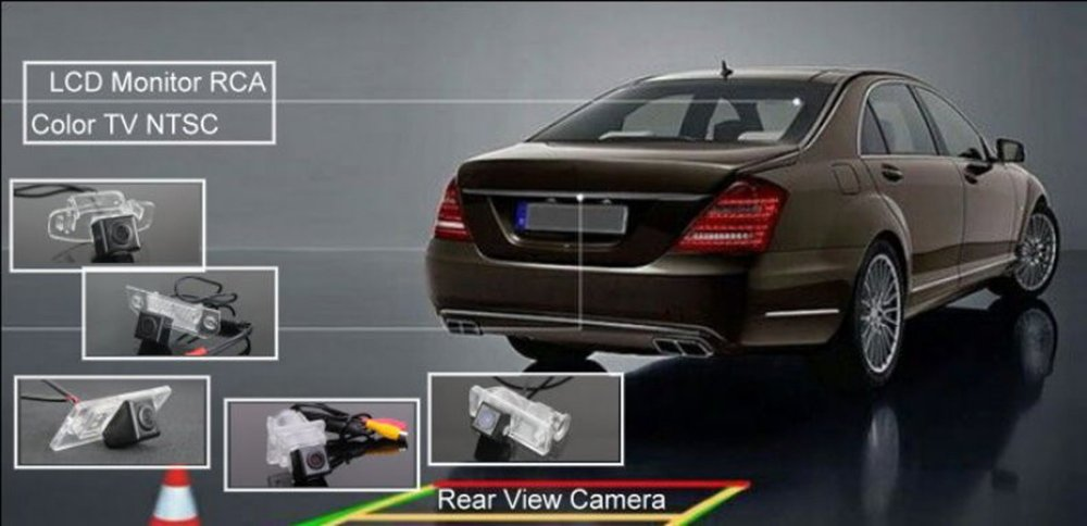 Car Rear View Camera /& Night Vision HD CCD Waterproof and Shockproof Camera for Kia Soul 2012~2013