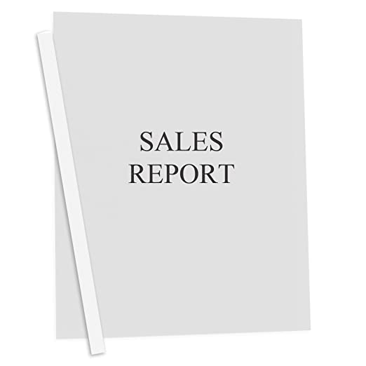Amazon.com : C-Line Report Covers with Binding Bars, Clear Vinyl ...
