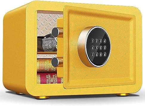 Caja Fuerte Empotrable Caja de seguridad azul/naranja, mini caja de cerradura pequeña y linda para niñas, niños y niños, para dinero en efectivo, moneda de juguete, con teclado digital: Amazon.es: Bricolaje y