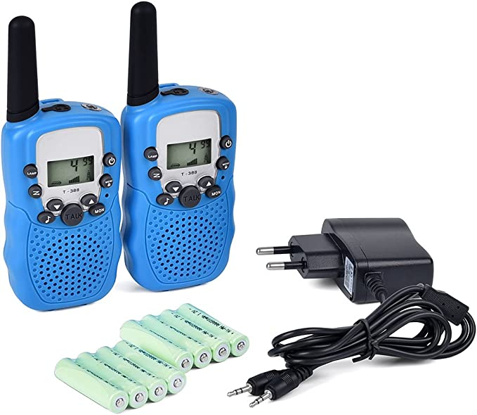 Funkprofi Walkie Talkie Kinder PMR Funkgeräte Set Walki