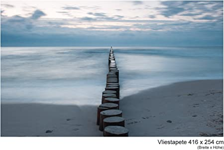 Papier-papier peint papiers peints Photos Papier Peint de Papier poster photo chemin de la Mer Baltique